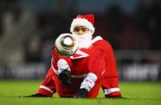 Getting the sack -- FC Santa Claus upstaged by elves in 5-a-side friendly