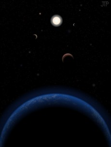 Nearby star is good candidate for Earth-like planets: study