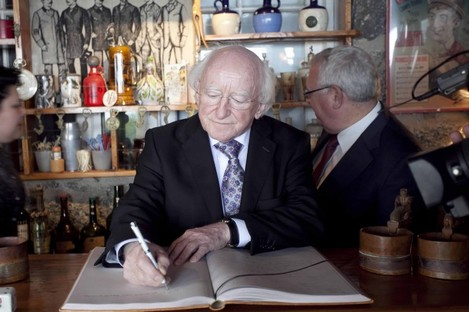 Michael D Higgins will have a lot of signing to do next week.