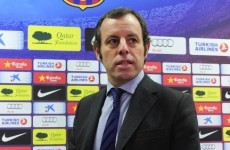 Rosell optimistic of swift Vilanova return