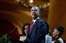 VIDEO: Barack Obama sings Deck the Halls