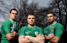 O'Driscoll hopes to be fit for 6 Nations opener
