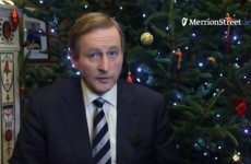 VIDEO: Here's Taoiseach Enda Kenny's Christmas message to Ireland