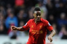 Signed and sealed: Sterling pens new Liverpool deal