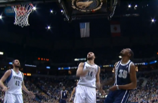 VIDEO: Kevin Durant barges his way to the most incredible lay-up of the NBA season