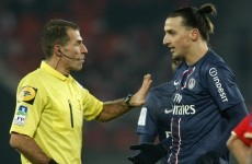 Disciplinary committee awaits for Zlatan after head stamp