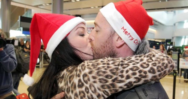 In pictures: Coming home for Christmas