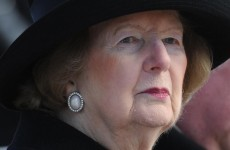 Former British Prime Minister Margaret Thatcher undergoes bladder surgery
