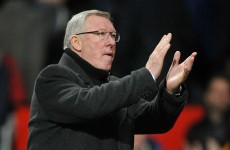 Ferguson sets United New Year's Day goal