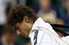 Nadal voices concerns over knee injury