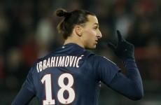 VIDEO: Zlatan Ibrahimovic almost scores another ridiculous goal