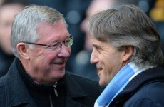 I always win, Mancini warns Alex Ferguson