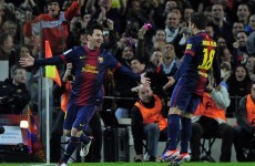 VIDEO: 2012 rampage of Leo Messi ends at 91 goals