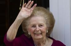 Margaret Thatcher doing 'fine' in hospital
