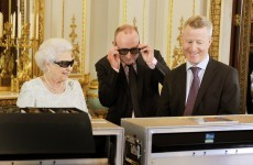 The Queen in 3D Specs Pic of the Day