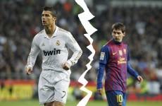 Christmas crackers: Cristiano Ronaldo v Lionel Messi