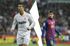 Christmas crackers: Ronaldo v Messi part 2