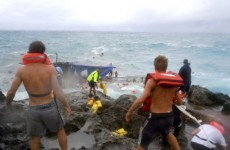 Three charged over Christmas Island boat disaster