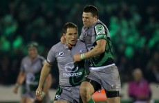 VIDEO: I've been immensely impressed by what I've seen - Parks on Connacht