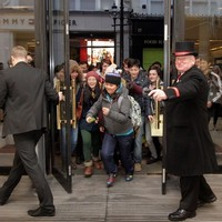 Early morning for eager shoppers as St Stephen's Day sales begin