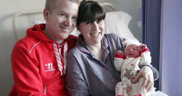 Christmas babies welcomed at the Coombe Hospital