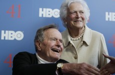 George Bush Senior in intensive care after 'setbacks'