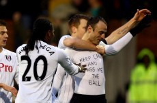 It's t-shirt time but Jol blasts 'brash' Berbatov