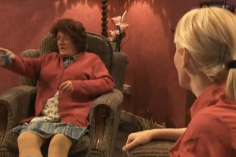 A scene from Mrs Brown's Boys