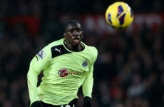 Ba humbug! Arsene Wenger shuts down Demba transfer rumours... for now