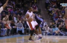 VIDEO: Dwyane Wade's kick to the groin gets him a one-game ban