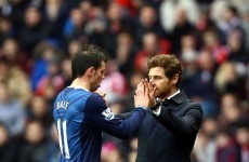 Simulation row: Villas Boas defends 'persecuted' Bale