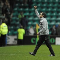 Fenlon riding high as Hibs topple Celtic at Easter Road
