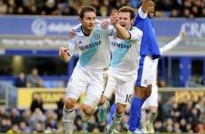 As it happened: Everton v Chelsea, Premier League