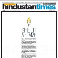 'She lit a flame': India's newspapers send a message over rape death