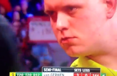VIDEO: Michael van Gerwen hits a nine-darter at the World Championship semis