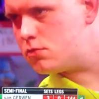 VIDEO: Michael van Gerwen hits a nine-darter at the World Championship semis