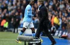 Mario Balotelli is going nowhere, insists Mancini