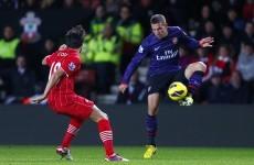 As it happened: Southampton v Arsenal, Premier League