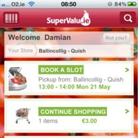 SuperValu launches country's first grocery shopping app