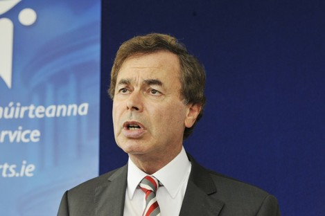 Minister for Justice, Equality and Defence Alan Shatter (file photo)