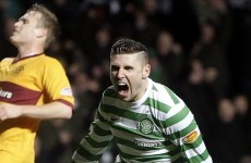 Gary Hooper scores late winner for Celtic