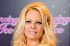 Pamela Anderson on Ice...coming to your TV this Sunday