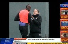 Why always him? Balotelli and Mancini pulled apart following training ground bust-up
