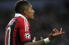 VIDEO: Racist abuse prompts Boateng to kick ball into stands, walk off in protest
