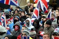 Ten police officers injured in Belfast flag protest