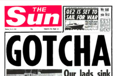 'The Sun' places ad in Argentinian paper defending Falklands policy