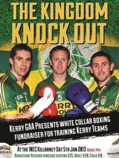 Who wants to see Kerry's football stars knock each other out tonight?
