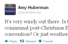 Tweet Sweeper: Amy Huberman has found a horrible truth