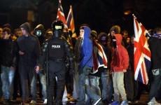Nine police officers injured and 18 arrests in Belfast protests