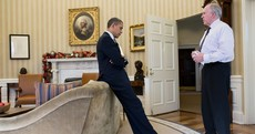Pic: The moment Obama learned of Sandy Hook shooting